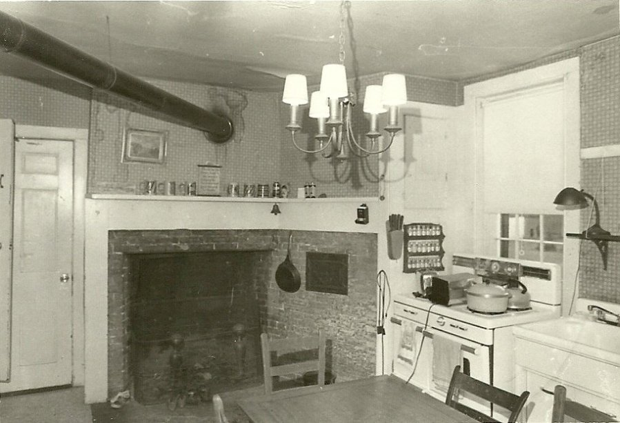 Farm House Kitchen Fireplace - 1978