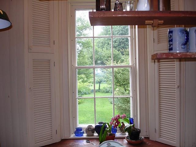 Kitchen View of Garden