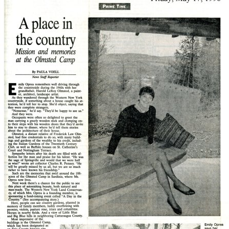 A Place in the Country The Buffalo News MAy 17, 1996